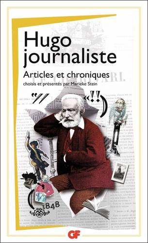 Hugo journaliste. Articles et chroniques