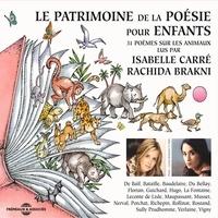Victor Hugo et Charles Baudelaire - Le patrimoine de la poésie pour les enfants. 31 poèmes sur les animaux.