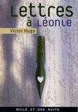 Victor Hugo - Lettres à Léonie.