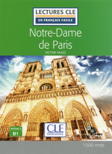 Notre Dame de Paris  avec 1 CD audio MP3