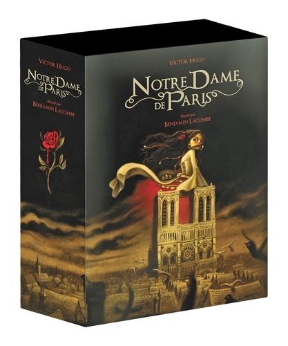 Victor Hugo et Benjamin Lacombe - Notre Dame de Paris - 2 volumes.