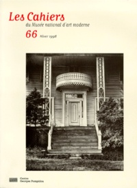 Victor Ieronim Stoichita et  Collectif - LES CAHIERS DU MUSEE NATIONAL D'ART MODERNE N° 66 HIVER 1998.