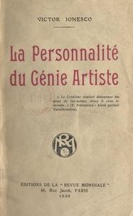 Victor Jonesco - La personnalité du génie artiste.