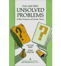 Victor Klee et Stan Wagon - Old and New Unsolved Problems in Plane Geometry and Number Theory.