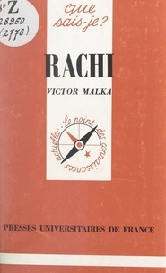 Victor Malka et Paul Angoulvent - Rachi.