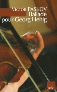 Coachingcorona.ch Ballade pour Georg Henig Image