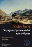 Victor Pavie - Voyages et promenades romantiques.