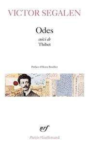 Livre des téléchargements pour allumer le feu Odes suivies de Thibet 9782070323364