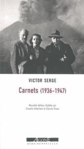 Victor Serge - Carnets (1936-1947).