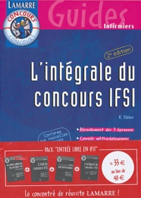 Deedr.fr Entrée libre en IFSI Pack 4 volumes : La culture générale en IFSI. L'oral du concours IFSI. Tests psychotechniques. L'intégrale du concours IFSI Image