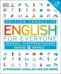 Victoria Boobyer - English for Everyone Niveau 4 avancé - Manuel d'apprentissage.