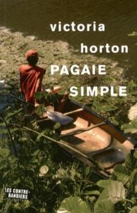 Victoria Horton - Pagaie simple.