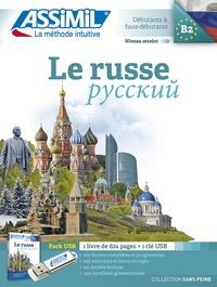 Victoria Melnikova-Suchet - Le russe - Pack USB : 1 livre. 1 Clé Usb