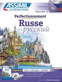 Victoria Melnikova-Suchet - Superpack perfectionnement russe - Contient 1 livre, 1 clé USB. 4 CD audio MP3