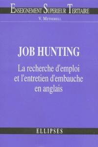 Victoria Metherell - Job hunting - La recherche d'emploi et l'entretien d'embauche en anglais.