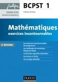 Vidian Rousse et Nicolas Blanc - Mathématiques BCPST 1 - Exercices incontournables.