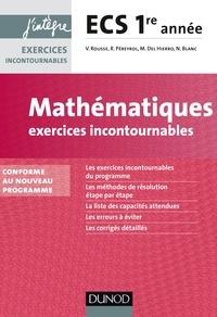 Deedr.fr Mathématiques exercices incontournables - ECS 1re année Image