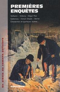 Vidocq et  Voltaire - Premières enquêtes - Un siècle de romans policiers.