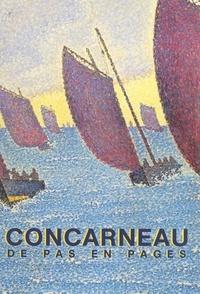 Ville de Concarneau et Gaby Allot - Concarneau de pas en pages.