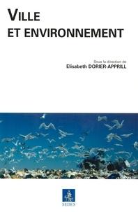 Elisabeth Dorier-Apprill - Ville et environnement.