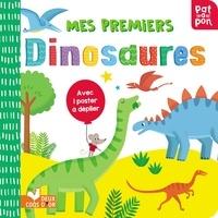 Villie Karabatzia - Mes premiers dinosaures - Avec 1 poster à déplier.