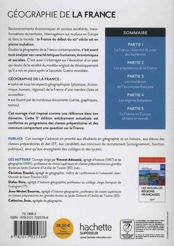 Géographie de la France 5e édition revue et augmentée