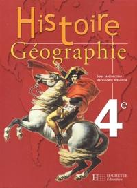 Vincent Adoumié et  Collectif - Histoire Géographie 4ème.