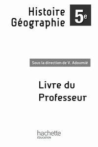Ucareoutplacement.be Histoire-Géographie 5e - Livre du professeur enrichi Image