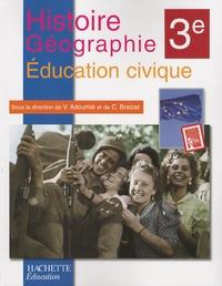 Histoire-Géographie Education civique 3e - Vincent Adoumié | Showmesound.org