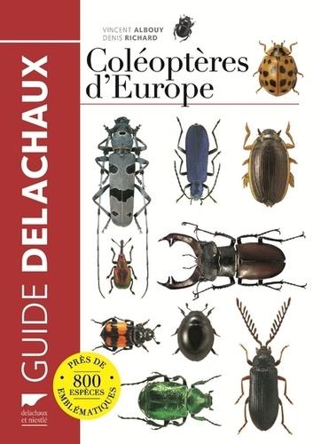 Vincent Albouy - Guide des coléoptères d'Europe.