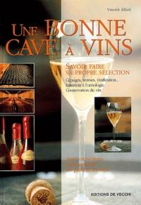 Vincent Allard - Une bonne cave à vins.