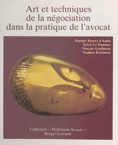 Art et techniques de la négociation dans la pratique de l'avocat