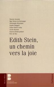 Vincent Aucante et Olivier de Berranger - Edith Stein, un chemin vers la joie.