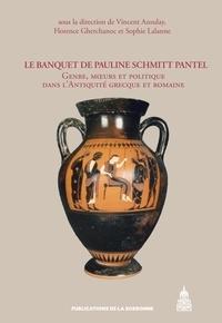 Vincent Azoulay et Florence Gherchanoc - Le Banquet de Pauline Schmitt Pantel - Genre, moeurs et politique dans l'Antiquité grecque et romaine.