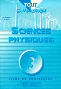 Corridashivernales.be SCIENCES PHYSIQUE 3EME. Livre du professeur Image
