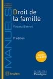 Vincent Bonnet - Droit de la famille.
