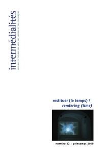 Vincent Bouchard et Ira Wagman - Intermédialités, Numéro 33, printemps 2019.