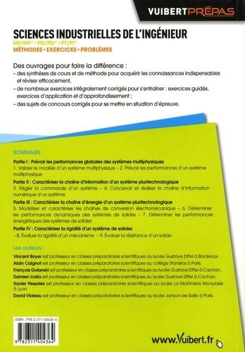 Sciences industrielles de l'ingénieur MP/MP* PSI/PSI* PT/PT*. Méthodes, exercices, problèmes