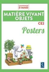 Vincent Bugeat et Daniel Delettre - Matière, vivant, objets CE2 - Posters.