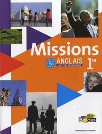 Vincent Burgatt - Anglais 1e Missions - B1/B2. 1 CD audio