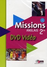 Vincent Burgatt - Anglais 2e Missions - DVD vidéo.
