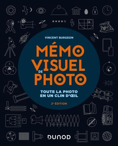 Vincent Burgeon - Mémo visuel de photo - 2e éd - Toute la photo en un clin d'oeil.