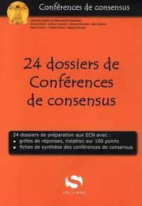 Vincent Cante et Jérôme Delambre - 24 dossiers de Conférences de consensus.