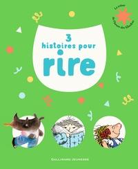 Vincent Cuvellier et Ronan Badel - 3 histoires pour rire - Emile a froid ; Quel vilain rhino ! ; Le monstre poilu.