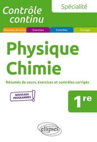 Vincent Davoine - Physique-chimie 1re spécialité - Résumés de cours, exercices et contrôles corrigés.