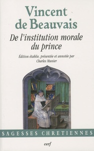 De l'institution morale du prince - Vincent de Beauvais pdf epub