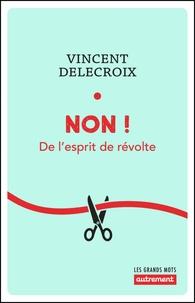 Vincent Delecroix - Non ! - De l'esprit de révolte.