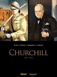 Vincent Delmas et François Kersaudy - Churchill  : 1874-1965 - Coffret en 2 volumes : Tome 1 ; Tome 2.