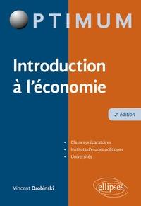 Vincent Drobinski - Introduction à l'économie.
