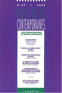 Vincent Dubois et Valérie Lozac'h - Sociétés contemporaines N° 57 - 2005 : Jeux bureaucratiques en régime communiste.